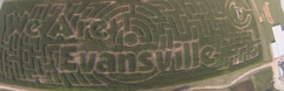 We Are Evansville Corn Maze